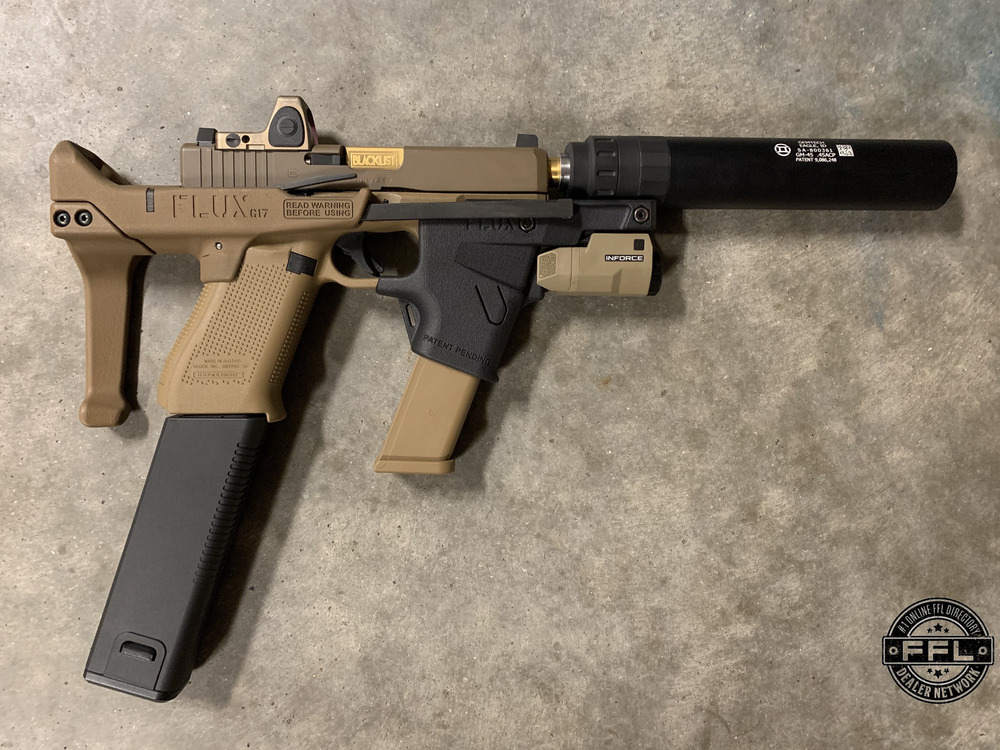 Flux Defense Brace and MP17 for the Sig Sauer M17