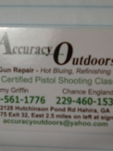 ACCURACY OUTDOORS LLC