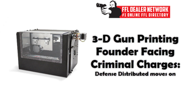 3-D Gun Printing Founder Facing Criminal Charges