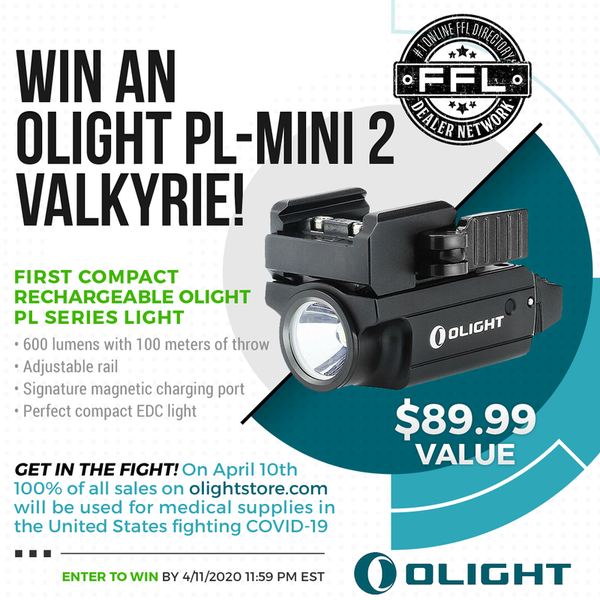 Olight PL-MINI 2 Valkyrie Giveaway!