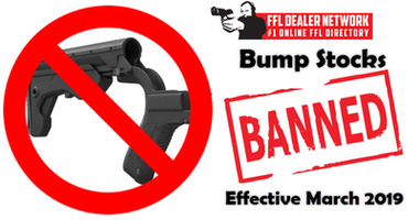 Department of Justice Bans Bump Stocks