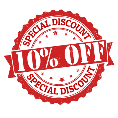 10% OFF Featured and Premium Listings