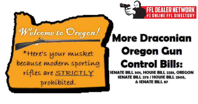 New Oregon Gun Control Bills